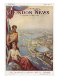 The Illustrated London News Festival of Britain Issue Giclee Print