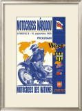 Narodov Nations of Motocross Framed Giclee Print