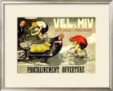 Vel d'Hiv Framed Giclee Print by J. Cancaret