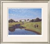 Druids Glen 18th Hole Limited Edition Framed Print by P. Munro