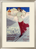 Crema All'Ovo Framed Giclee Print