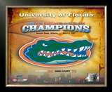 Florida Gators Logo Framed Photographic Print