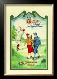 Golf Championship Posters by A. Murray