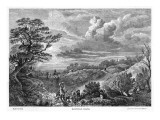 The Heath, Looking Very Rural Giclee Print