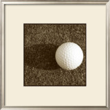 Sepia Golf Ball Study IV Art by Jason Johnson