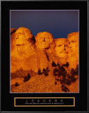Leaders: Mount Rushmore Poster