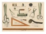 Tailoring Tools Giclee Print