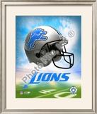 2009 Detroit Lions Team Logo Framed Photographic Print