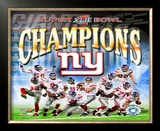 New York Giants - Super Bowl XLII Framed Photographic Print
