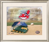 Cleveland Indians Logo Framed Photographic Print
