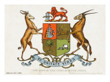 The Coat of Arms of the Union of South Africa Giclee Print
