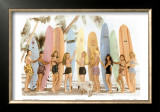 Surfer Girls Art by  Himani