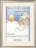 Mistrovstvi Sveta - Prague Framed Giclee Print