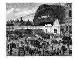 The Alexanderplatz Station Giclee Print
