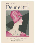 The Delineator March 1927 Giclee Print