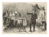 The Magician Eugene Bosco Performs for the Prussian Royals Giclee Print