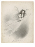 The Actress Priscilla Horton in the Role of Ariel, Giclee Print