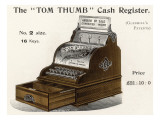 "The Handsome ""Tom Thumb"" Cash Register Is Priced at Twenty- One Pounds and Ten Shillings Giclee Print"