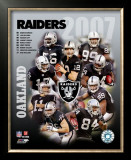 Oakland Raiders Framed Photographic Print