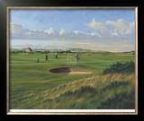 St. Andrews 4th - Ginger Beer Limited Edition Framed Print by Peter Munro