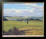 St. Andrews 6th - Heathery (Out) Limited Edition Framed Print by Peter Munro