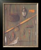 Fishing Prints by Eva Sienkel