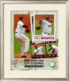 CC Sabathia Framed Photographic Print