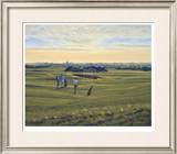 St. Andrews 12th - Heathery (In) Limited Edition Framed Print by Peter Munro