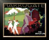 Harrogate Framed Giclee Print by Tom Purvis