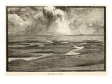 The Goodwin Sands, in the Straits of Dover, Where Many a Good Ship Has Come to Grief, Giclee Print