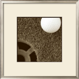 Sepia Golf Ball Study II Prints by Jason Johnson