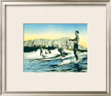 Sea Gods Framed Giclee Print by Frank S. Warren