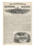 The Illustrated London News the Front Page of the First Issue Giclee Print
