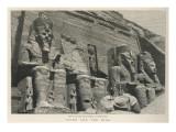 Temple of Abu Simbel Giclee Print