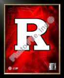 Rutgers University 2008 Logo Framed Photographic Print