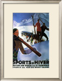 Sports d'Hiver, 1929 Posters by Roger Broders