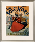 Le Pole Nord Framed Giclee Print by Georges Ripart