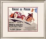 Circuit du Perche Framed Giclee Print by T. J. Bridge