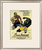 Box-Kampf Framed Giclee Print by Julius Ussy Engelhard