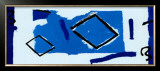 Composizione Blu Print by Vlado Fieri