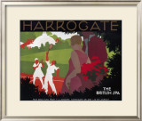 LNER, Harrogate, c.1930 Framed Giclee Print by Tom Purvis