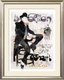 Le Grillon Framed Giclee Print by Jacques Villon
