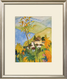 Village Above the Lake Prints by Hermann Hesse