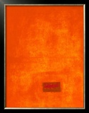Untitled, c.1991 (Orange) Prints by Jürgen Wegner