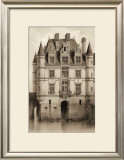 Sepia Chateaux V Prints by Victor Petit