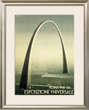 Roma Arch Framed Giclee Print