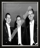 Edward Kennedy, John F. Kennedy, and Robert Kennedy 1958 Framed Photographic Print