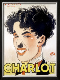 Charlot Framed Giclee Print by  Leymarie