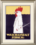 Waschanstalt Zurich Framed Giclee Print by  Hardmeyer