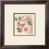 Butterfly Gardens Posters by Gillian Fullard